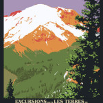 Andy Rader: Travel Postcard: Mount Rainier
